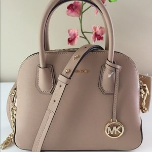 Michael Kors Cindy medium pocket  Dome Satchel.